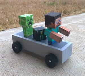 Minecraft Pumpkin Carving Ideas by Minecraft Cars In The Pinewood Derby Boys Life Magazine
