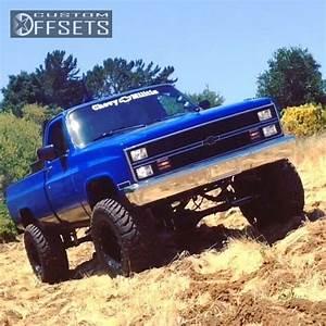Wheel Offset 1983 Chevrolet K20 Aggressive 1 Outside