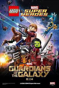 Marvel Guardians of the Galaxy Movie Poster in LEGO Form ...
