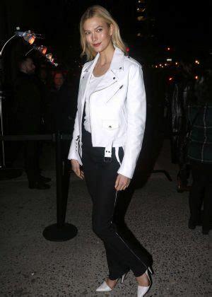 Karlie Kloss Calvin Klein Fashion Show New York