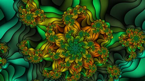 flower fractals wallpaper www imgkid com the image kid
