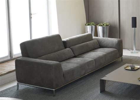 contemporary settee furniture kafka sofa leather sofas contemporary sofas from italy