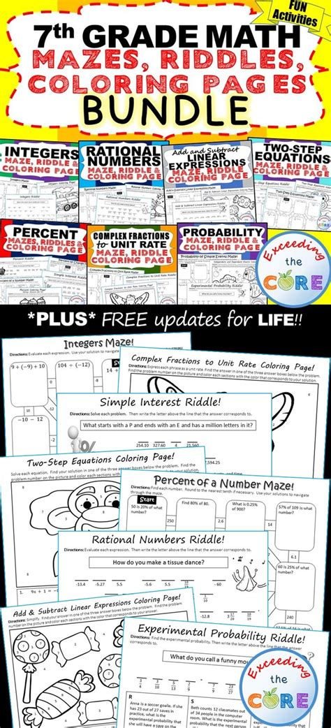 17 Best Ideas About Integers Activities On Pinterest  Integers, 7th Grade Math And Math Classroom