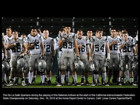 de la salle concord are california state chions again after beating servite santa 48
