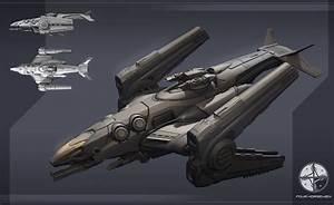 concept ships: Concept spaceship by the Four Horsemen