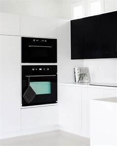 Küche Schwarz Weiß : k che in schwarz wei von jennifer und ihrem blog amerrymishapblog wohnkonfetti ~ Sanjose-hotels-ca.com Haus und Dekorationen