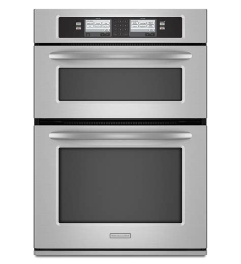 kitchenaid kehusss  microwave combination wall oven   cu ft capacity steam assist