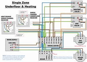 Plan Wiring Diagram With Underfloor Heating