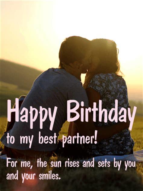 partner happy birthday card birthday