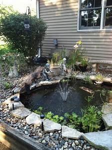 DIY Koi Pond! | koi pond / water gardens & fountains ...