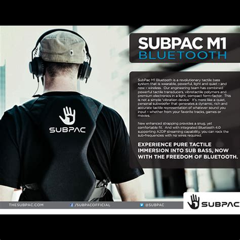 5.0 out of 5 stars 2 ratings. SubPac S2 Seatback Tactile Bass System | SUBPAC