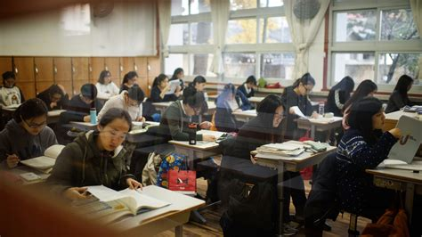 The All-work, No-play Culture Of South Korean Education