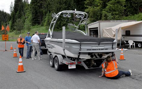 Maryland Boat Trailer Inspection Stations by Idaho Boat Inspection Stations On The Lookout The