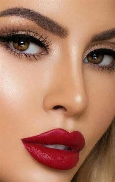 pin  hettien  alluring lips red lips makeup  beautiful lips red lip makeup
