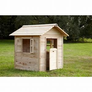 Cabane En Bois Pour Enfant : cabane en bois enfant noa axi eden deco ~ Dailycaller-alerts.com Idées de Décoration