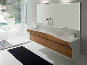 Badmöbel Set Holzoptik : badm bel aus holz 50 moderne sets f rs bad ~ Watch28wear.com Haus und Dekorationen