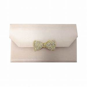 silk envelope style embellished pocket folder with golden With silk envelope wedding invitations