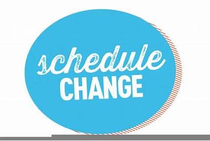 Clipart Change Schedule Clip Clker