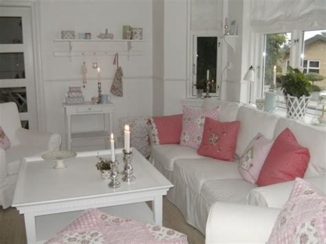 deco salon rose  blanc