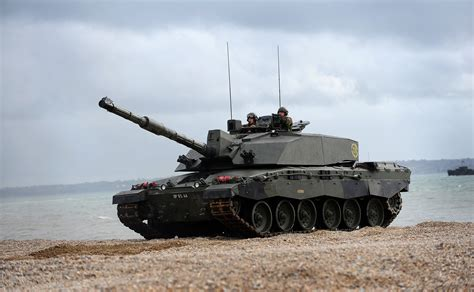 hibious tank file challenger 2 tank during amphibious demonstration mod