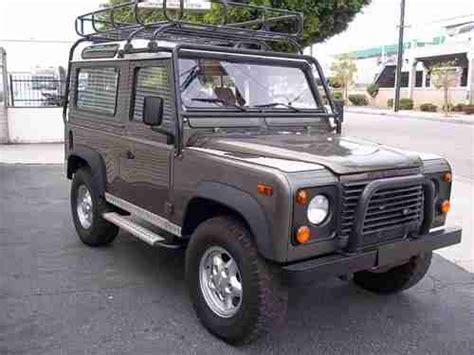 1997 land rover defender purchase used 1997 land rover defender d90 le station