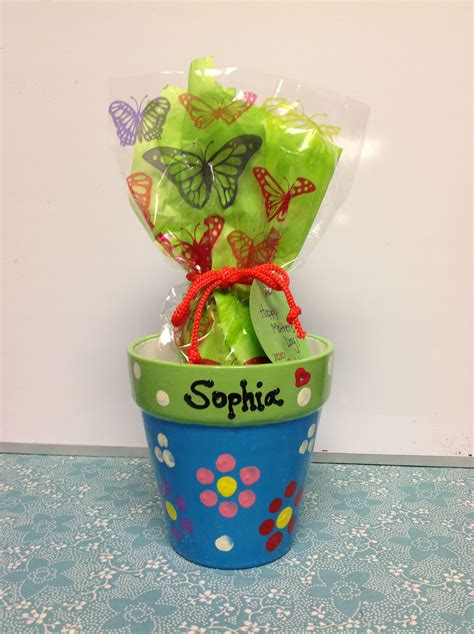 mothers day project  preschoolers dollar store clay