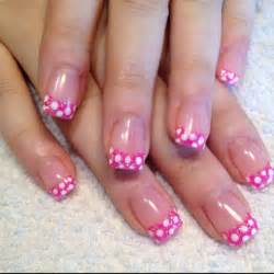 The pretty pink nails designs for girls cheerful nail polish