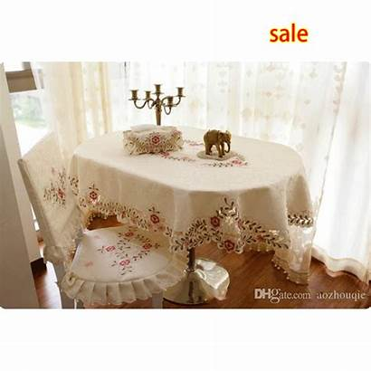 Wholesale Oval Cloth Tablecloth Dining Chair Covers