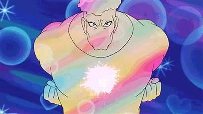Transformation Punch Gifs Puri Prisoner Magic Magical