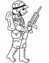 Army Coloring Pages Coloringpages1001 sketch template