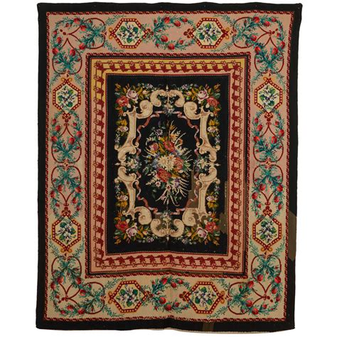 Victorian Rugs For Sale by Victorian English Needlepoint Rug For Sale At 1stdibs