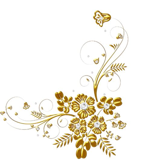 50th Anniversary Gold Black Diamond Floral Swirl