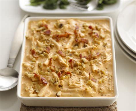 alouette cuisine alouette pancetta and chicken penne recipe