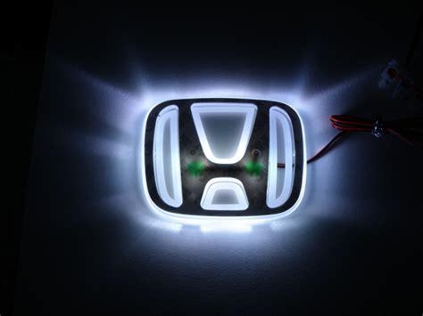 led honda logo emblem hintergrundbeleuchtet forum flohmarkt