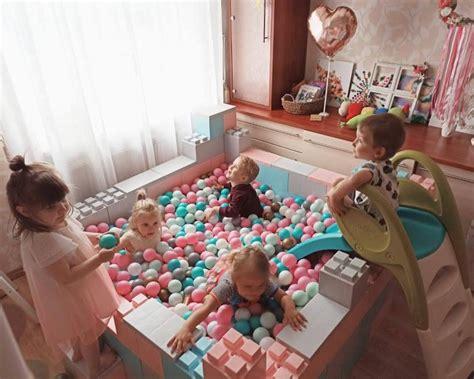 EVERBLOCKS rotaļu laukums - baseins ar 1200 bumbām ...