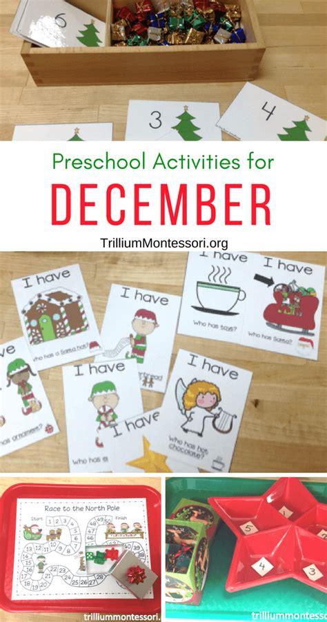 december activities for preschool trillium montessori 281   December Activities for Preschool