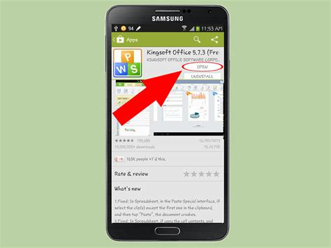office app for android how to install kingsoft office apps to an android phone