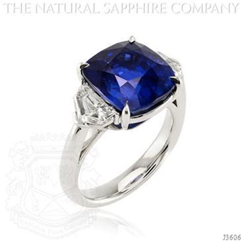 sapphire engagement ring cost