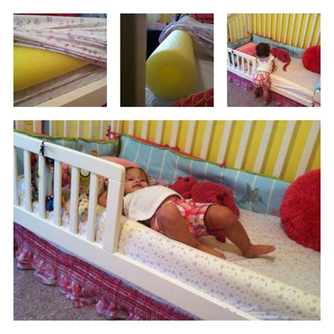 pool noodle bed rail pool noodle toddler bed rail livy