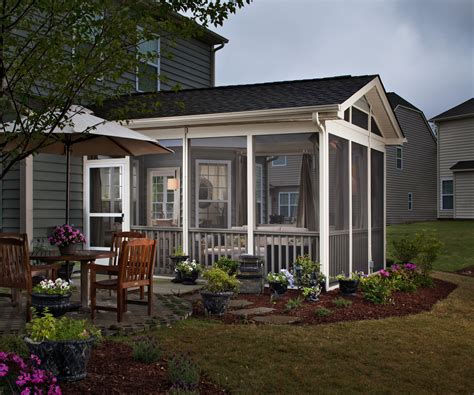 side porch designs how to choose between a screened in porch 3 season room