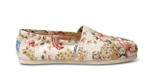 shabby chic toms shabby chic toms toms x shabby chic floral toms