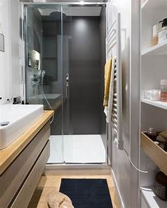 Douche Petit Espace : comment am nager une petite salle de bains carnet d 39 l gance ~ Voncanada.com Idées de Décoration