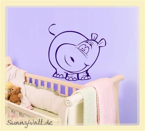 Wandtattoo Kinderzimmer Nilpferd by Nilpferd F 252 R Wohnzimmer Kinderzimmer Wandtattoo