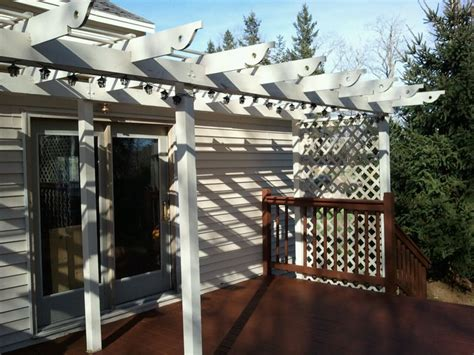 easy   diy outdoor pergolas shelterness
