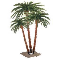 sterling inc pre lit palm tropical artificial christmas tree reviews wayfair