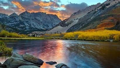 Landscape Mountain Wallpapers Desktop Scenery Backgrounds Nature