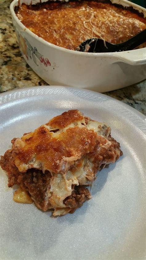 Protein Noodle Lasagna