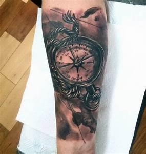Top 63 Compass Tattoo Ideas  2020 Inspiration Guide