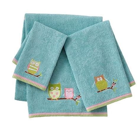 owl bath towel sets a wise choice for your child s bathroom these owl bath