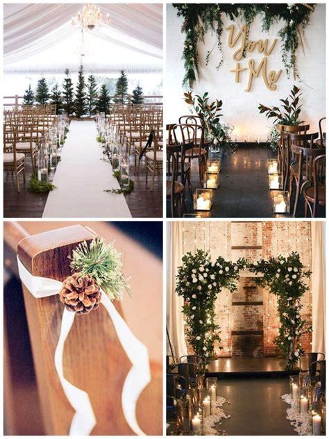 ceremonie mariage hiver en  deco mariage hiver deco